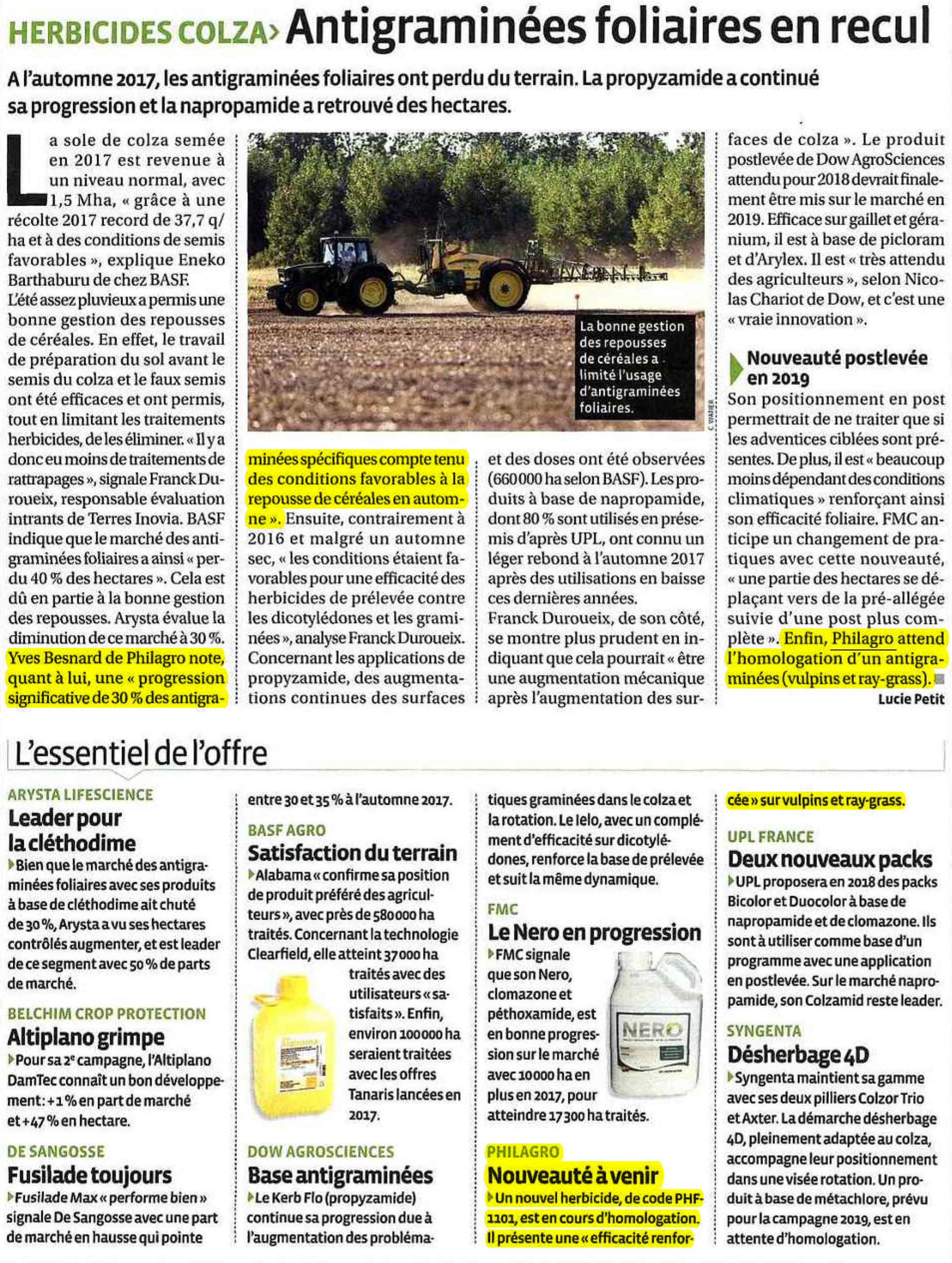 Herbicides colza_AGRO DISTRIBUTION_201806